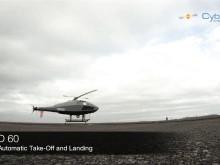 CybAero APID 60 Evaluation flights Vardo Norway 2011