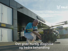 Falck tester droner til fremtidens sundhedsvæsen