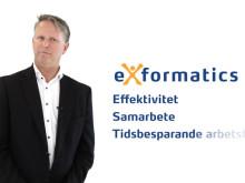Effektivitet, bättre samarbete och tidsbesparende arbetsflöden med Exformatics ärendehantering och ECM.