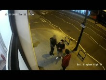 CCTV footage of the assault