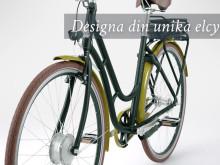 Designa din egen unika elcykel
