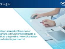 OmniJoin-verkkoneuvotteluohjelmalla lääkärikäynnit voidaan toteuttaa etälääkäripalveluna