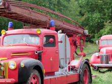 Bildspel med brandbilar