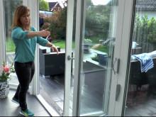 Videoreportage i uterumsdröm hos Lotta & Micke