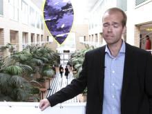 Mattias Lundberg presenterar Psykologprogrammen vid Institutionen för psykologi, Umeå universitet
