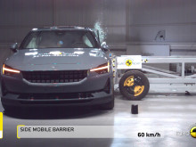 Polestar 2 - passive and active safety testing video - March 2021