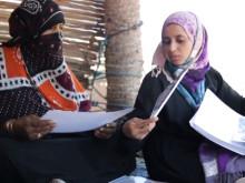 Intervju med Amira Al-Sharif  på Socotra Island, Jemen