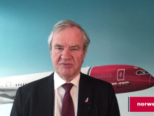 Norwegian CEO Bjørn Kjos talks about the Boeing 737 MAX
