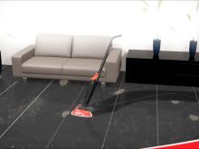 Vileda Steam höyrymoppi puhdistaa lattiat ja raikastaa matot ilman kemikaaleja