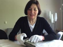 Gömd plånbok från andra världskriget upphittad