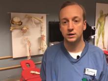 ST-läkaren Mattias Högström om ST-utbildningen och valet Anestesi/IVA som specialitet