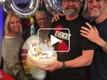 Ljudklipp - Vakna med NRJ firar Adam Alsing 50 år!