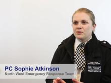 PC Sophie Atkinson – Special Recognition