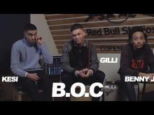 B.O.C. interview - Red Bull Studios Live #NYTING