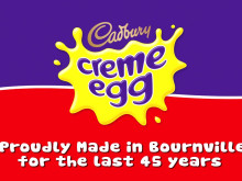 Cadbury Creme Egg - Behind the egg