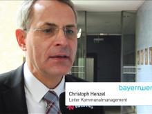 Spot TV Touring zum Auftakt Bürgerenergiepreis Unterfranken 2015