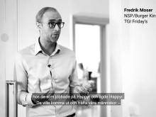 Fredrik Moser från Burger King och KFC om Happyrs kundfokus
