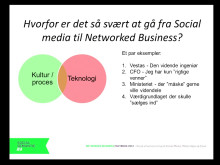 Jan Futtrup: Danske virksomheder på sociale medier. Mynewsday maj 2013