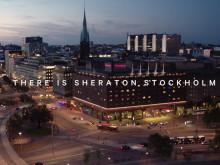 Sheraton Hotel - mitt i Stockholm