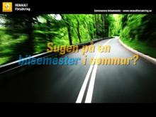 Renault Försäkrings Bloggstafett 09
