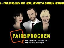 """congstar """"FAIRsprochen"""" mit Tim Hendrik Walter (@herranwalt) und Gudrun Herrmann (TikTok)"""