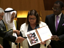 Al Sumait Prize Awards Ceremony African Arab Summit Malabo 2016 Non VO clips