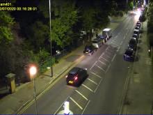 CCTV footage - entering park