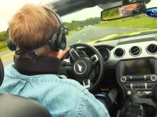 Selfie-generationen blev trænet i trafiksikkerhed