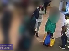 CCTV footage of distraction theft in Barking
