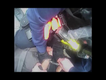 Body worn video of the arrest