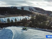 Rekordtidlig sne i Idre FJäll