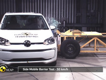 Volkswagen up! Euro NCAP testing Dec 2019