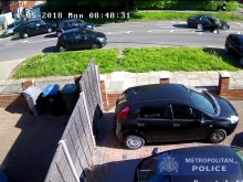 CCTV footage of shooting