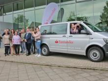 Audiobeitrag: Santander sponsert Bus für Auftritte des Landesjugendensembles NRW