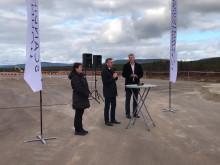 Första spadtaget Scandinavien Mountain Airport