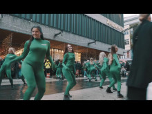 Flashmob Drottninggatan 25 november 2016
