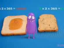 Low Carb Bröd - Hur du spar 14 kg Kolhydrater