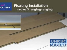 Uniclic Multifit Jointing System for Resilient Flooring