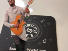 Shazam Codes and AR demo with Wyclef Jean