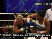 Boksesending på Viasat 4 lørdag 21. oktober