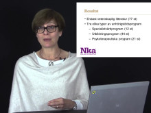 Webbinarium om kunskapsöversikten som handlar om stödprogram till anhöriga som ger insatser till närstående med stroke.