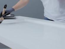 Gør-det-selv film - sådan maler du allerede behandlet træværk