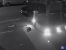 CCTV of the attack in Norfolk Road, Ilford