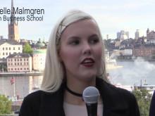 TBS elever på föreläsning med supermäklaren Fredrik Eklund