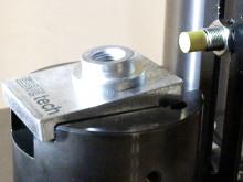 Essve Tech applicering av stansmutter i 10 mm stål