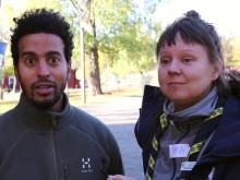 Friluftsdag i Husby med Scouterna, Fryshuset och Akademiska skolan i Husby