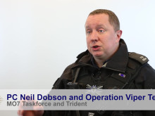 PC Neil Dobson and Operation Viper Team