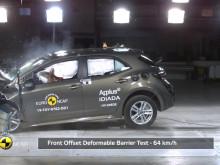 Toyota Corolla Euro NCAP testing montage May 2019