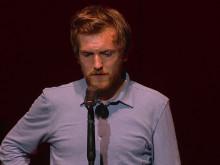 Årets Mandlige Hovedrolle 2018: Elliott Crosset Hove, 'Hamlet', Vendsyssel Teater.