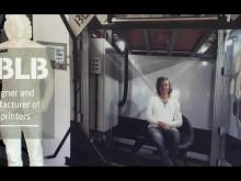 NorDans 3D-printade fönster och dörrar i biokomposit